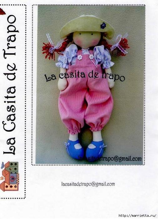 Выкройка куколки Аманды в шляпке (6) (505x700, 248Kb)