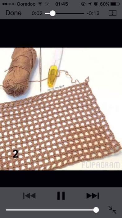 Вязаные крючком коврики на филейной сетке (10) (393x700, 185Kb)