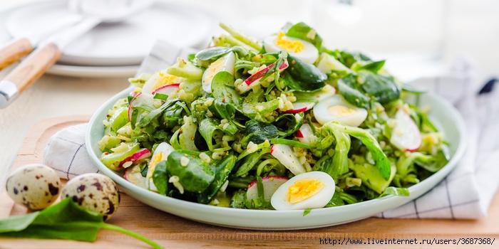 Салат из щавеля с яйцом (700x350, 203Kb)