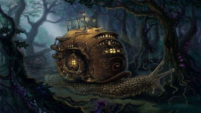 Fantasy-art-landscapes-snail-steampunk-cities-trees-forest_1920x1080 (700x393, 48Kb)