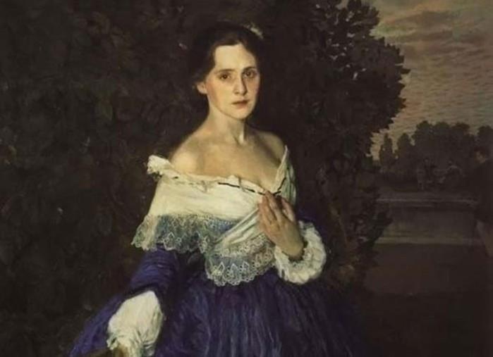 Трагическая судьба «Дамы в голубом», или Загадка символа эпохи Серебряного века