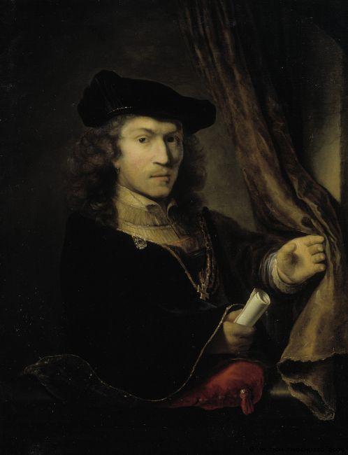 4000579_Selfportrait_of_Ferdinand_Bol_undated (498x650, 30Kb)