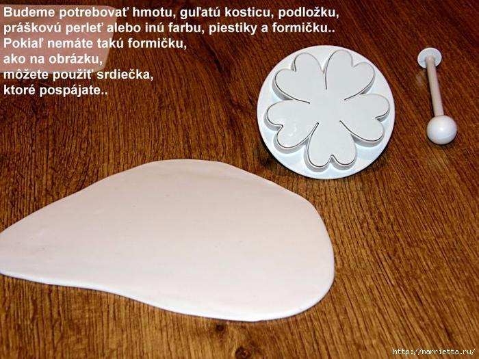 Modelado de masilla de azúcar para las tortas.  flores hermosas.  Master Class (1) (700x525, 309Kb)