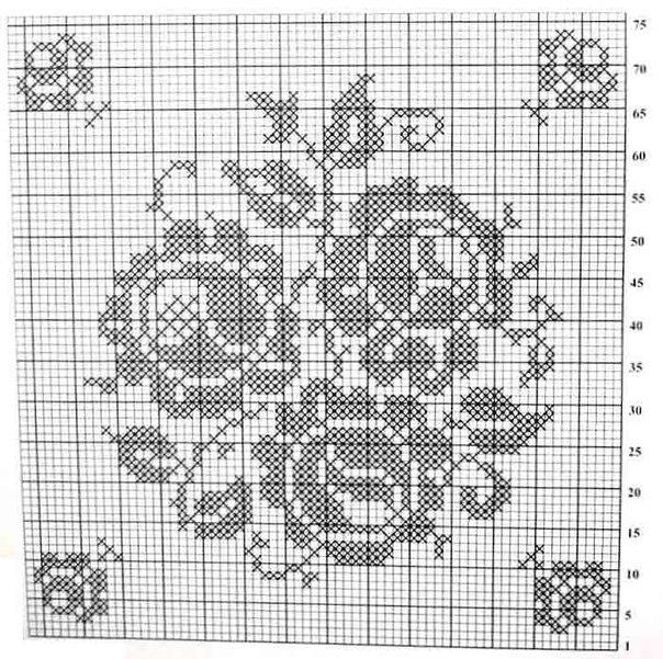 Филейное вязание крючком схема вязания бабочки крючком