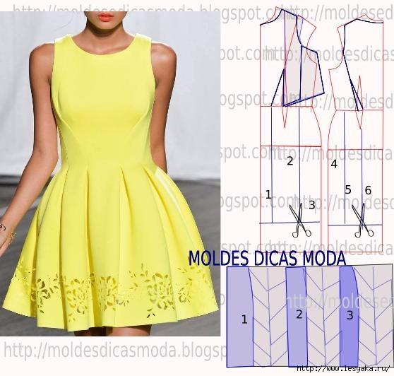 Сшить платье по фигуре из трикотажа фото 834