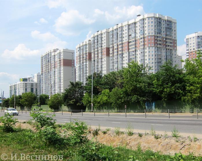 Микрорайон Изумрудные Холмы в городе Красногорске Московской области - новостройки