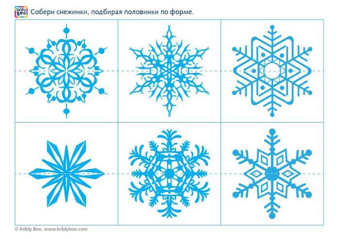 Игра рисовать снежинку