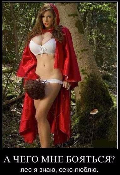 эротические фото красной шапочки