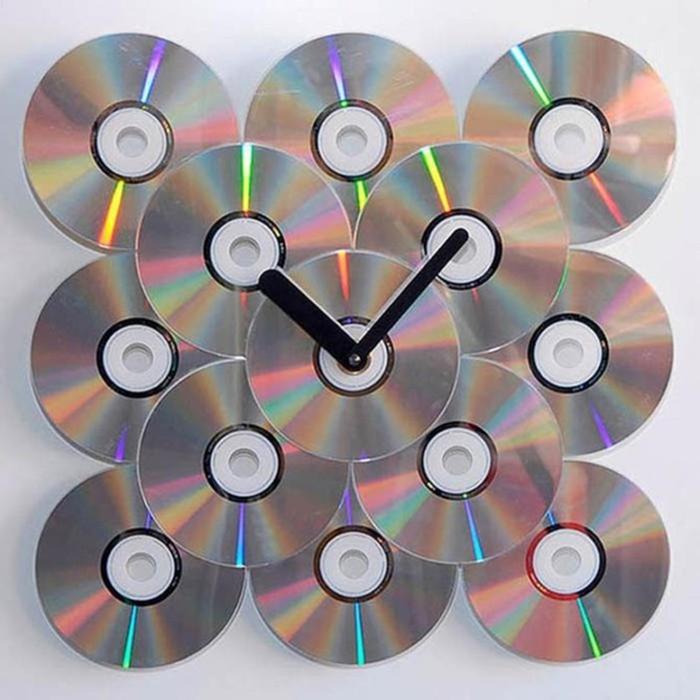15 стильных вещей, сделанных из старых компакт дисков