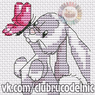 Binky & Butterfly (400x400, 284Kb)