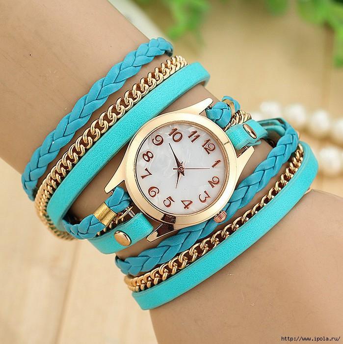 Модные ремешки для часов женские