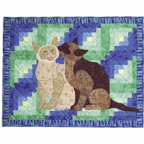 лоскутные одеяла с кошками 6 (600x600, 367Kb)
