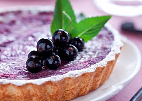 Пирога из смородины для