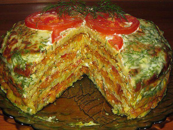 Тортик из кабачков (604x453, 361Kb)