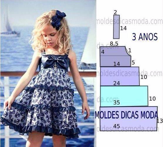 Летние платья для девочек с простыми выкройками, выбирайте (5) - Copy (555x501, 266Kb)