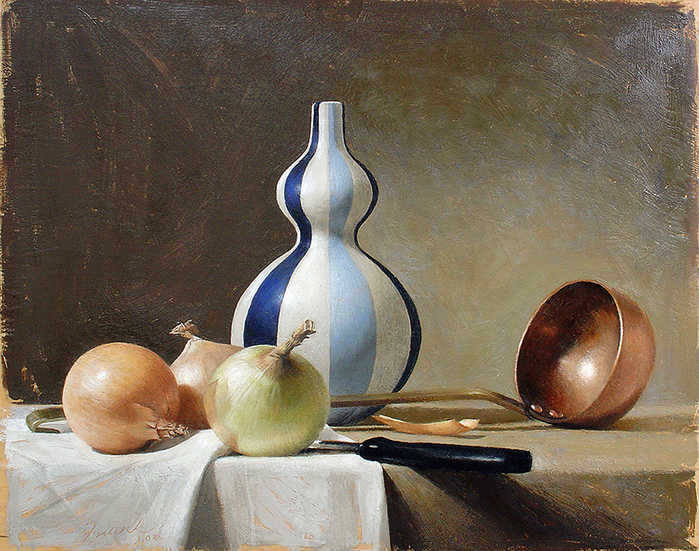 Still-life-with-Blue-and-White-Vase-20x18-2004- (700x551, 666Kb)