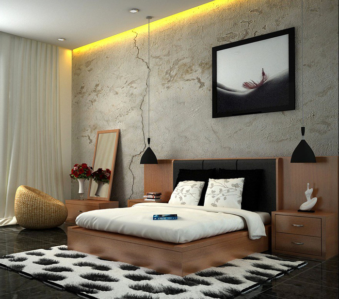 Fresh-and-Classy-Bedrooms-Image-02-White-Brown-Black-Attractive-Stylish-Bedroom-Ideas (700x618, 444Kb)