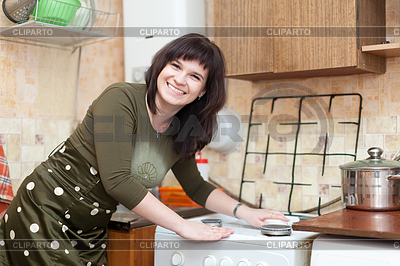 5988810_4000322happyhousewifecleansgasstove (400x266, 131Kb)