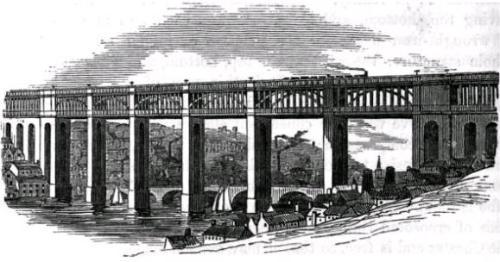 High Level Bridge в Ньюкасле на Тайне (500x262, 27Kb)
