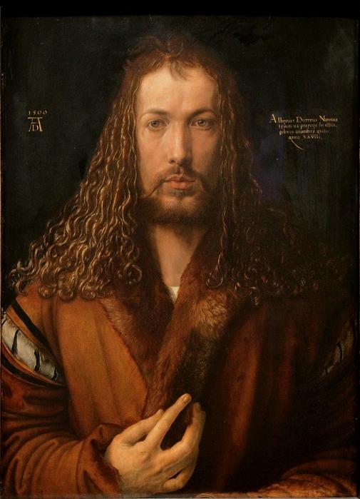 Dürer_-_Selbstbildnis_im_Pelzrock_-_Alte_Pinakothek (505x700, 414Kb)