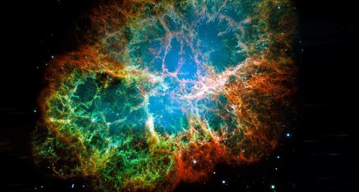 crab nebula. (700x374, 45Kb)