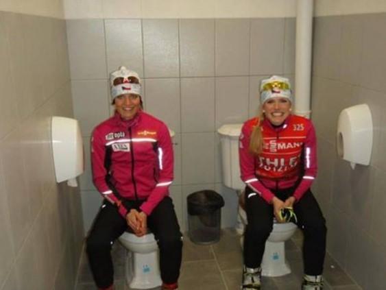 Смешные фото из Сочи иностранных спортсменов и журналистов