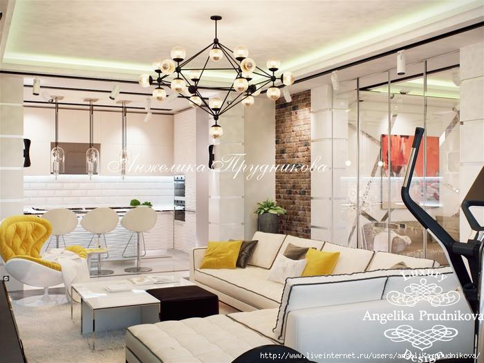 Дизайн интерьера квартиры в стиле лофт /5994043_3gostinaya (700x525, 238Kb)