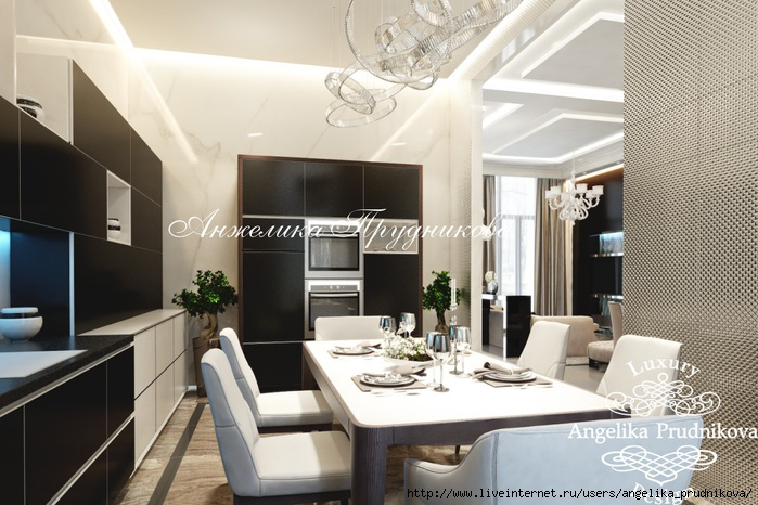 Дизайн интерьера квартиры в стиле Ар-деко на Воробьёвых горах/5994043_6kukhnya (700x466, 219Kb)