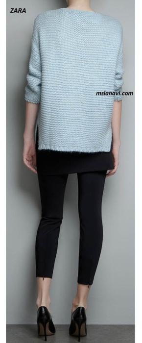 Вязаный-пуловер-ZARA-спинка-424x1024 (290x700, 128Kb)