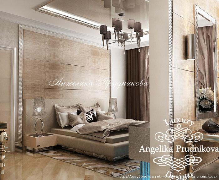 Интерьер квартиры в стиле модерн в ЖК «Итальянский квартал» /5994043_14_spalnyastrenazhyernymzalom (700x573, 298Kb)
