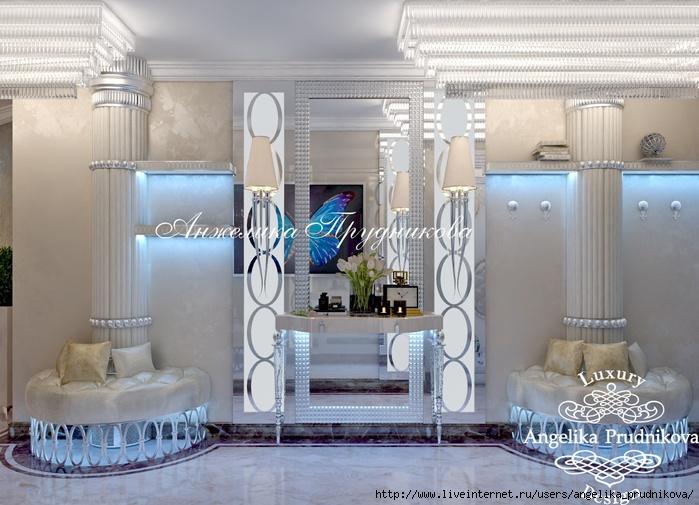 Дизайн интерьера квартиры в стиле Ар-деко в ЖК «Эдельвейс»/5994043_11_kholl (700x505, 230Kb)