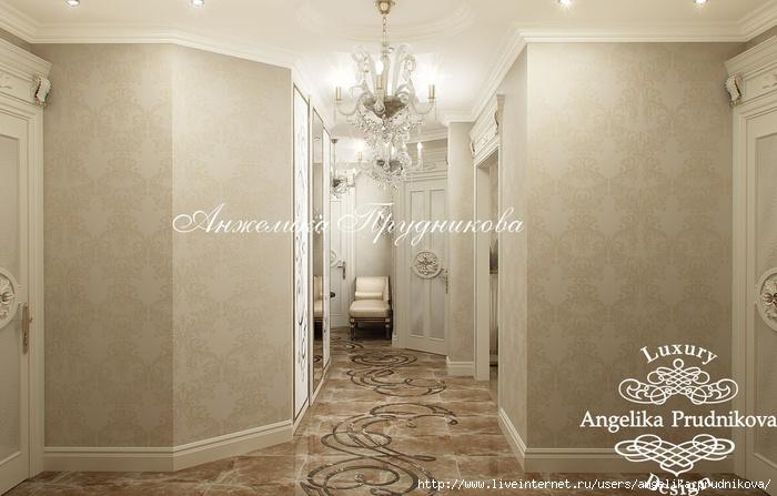 Интерьер квартиры в классическом стиле в ЖК «Английский квартал» /5994043_26_kholl (700x447, 185Kb)