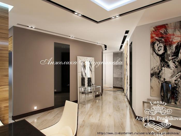 Дизайн интерьера квартиры в стиле хай-тек