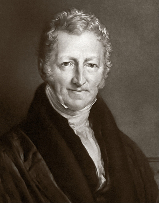 thomas malthus essay on the principles of population in 1798