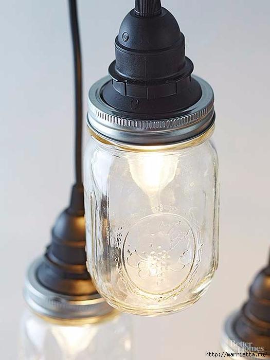 Креативный светильник из стеклянных банок (7) (525x700, 172Kb)