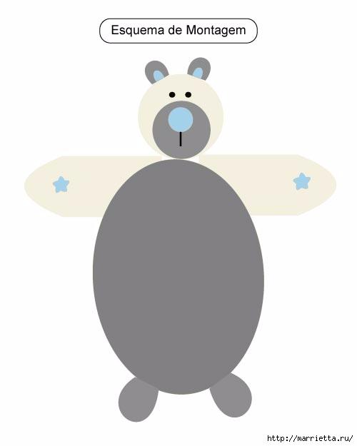 Прикроватный детский коврик Медвежонок (4) (500x625, 35Kb)
