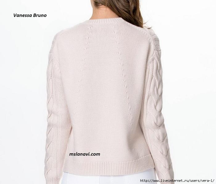 Вязаный-пуловер-спицами-от-Vanessa-Bruno-спинка (700x594, 198Kb)