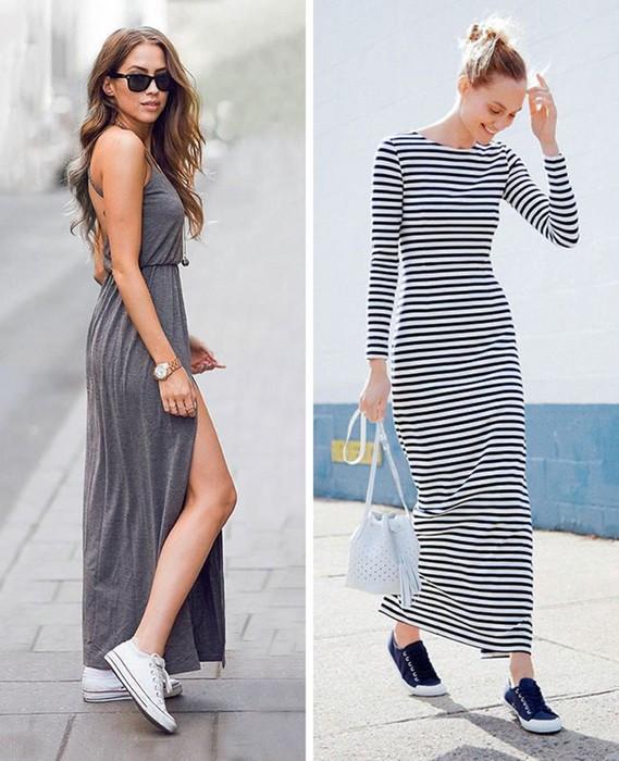 Длинные платья, которые выглядят соблазнительнее, чем мини-юбки