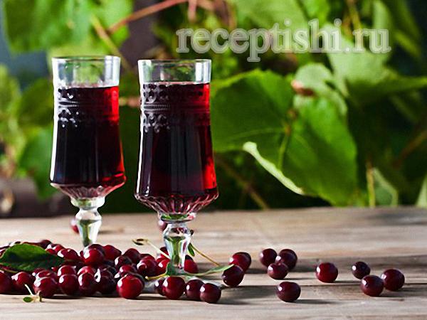 Как сделать настойку на вишне с водкой
