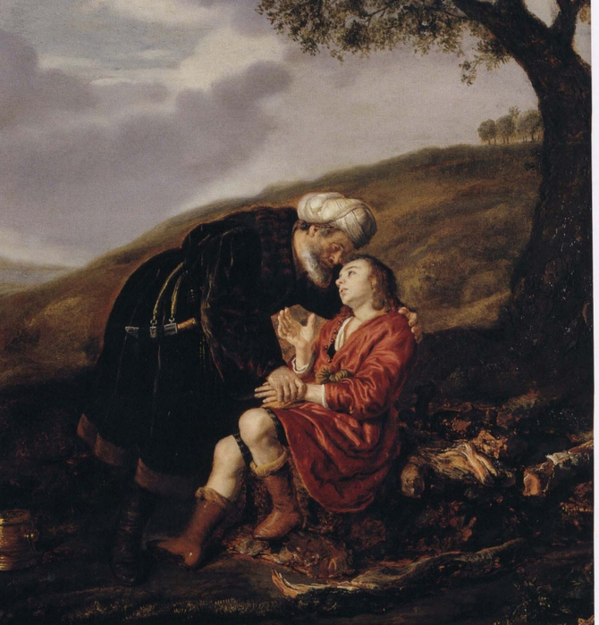 4000579_Abraham_and_Isaac_before_the_Sacrifice_Jan_Victors_1642 (670x700, 333Kb)