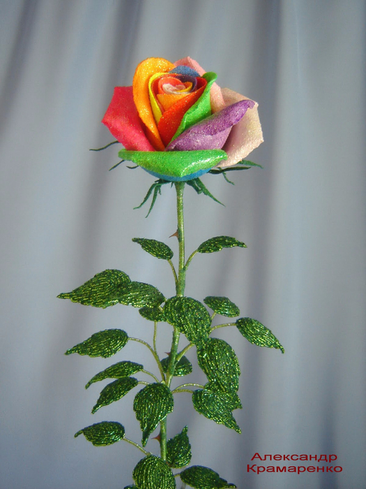 Розы из бисера (3) (525x700, 352Kb)