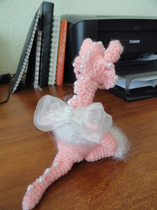Вязание крючком. Авторская кукла. Дракошка (7) (525x700, 350Kb)