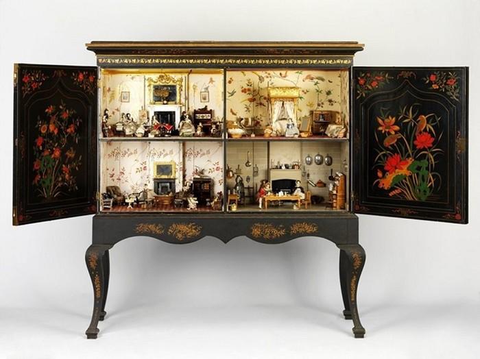 Архитектура в миниатюре: 300-летняя история кукольных домиков
