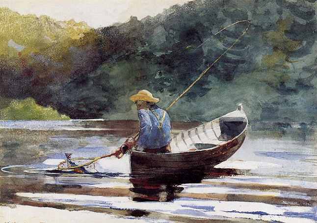 Boy Fishing, 1892 (646x455, 370Kb)