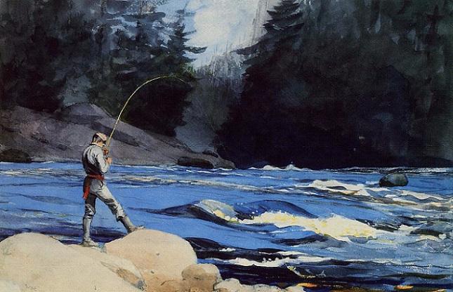 Quananiche, Lake St. John, 1897 (645x416, 303Kb)