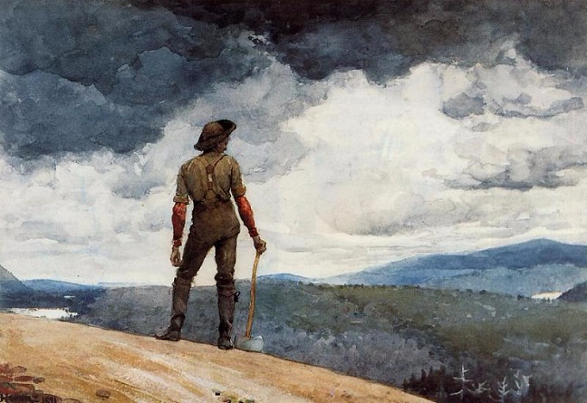 The Woodcutter, 1891 (648x445, 268Kb)