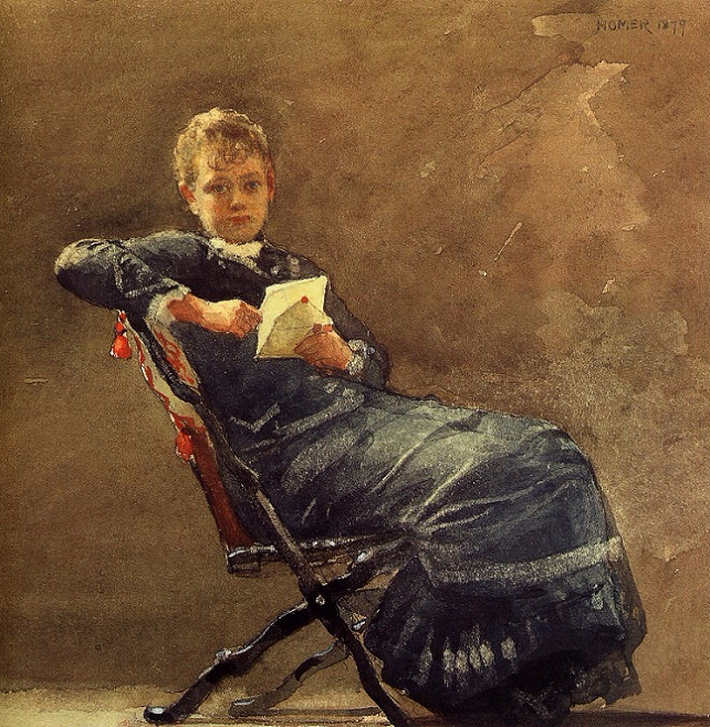 Girl Seated, 1879 (642x657, 542Kb)