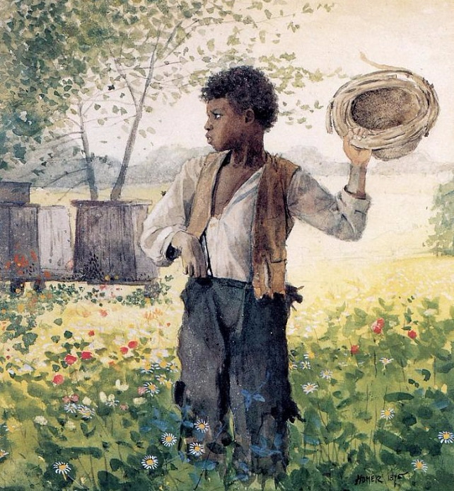 The Busy Bee, 1875 (642x693, 538Kb)