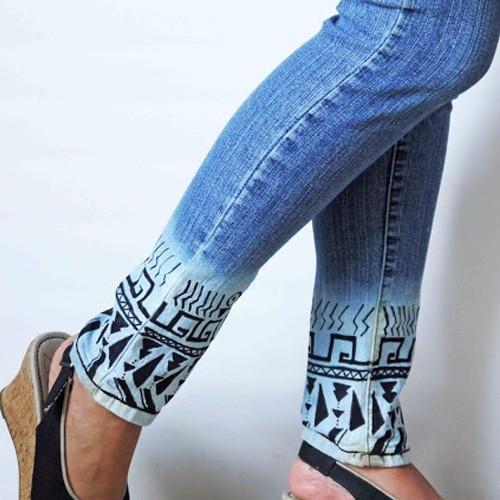 Как сделать рисунок белизной на джинсах - Ve-sim.ru