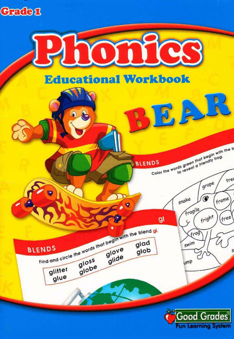 Phonics Educational Workbook - Grade 1_1 (483x700, 394Kb)